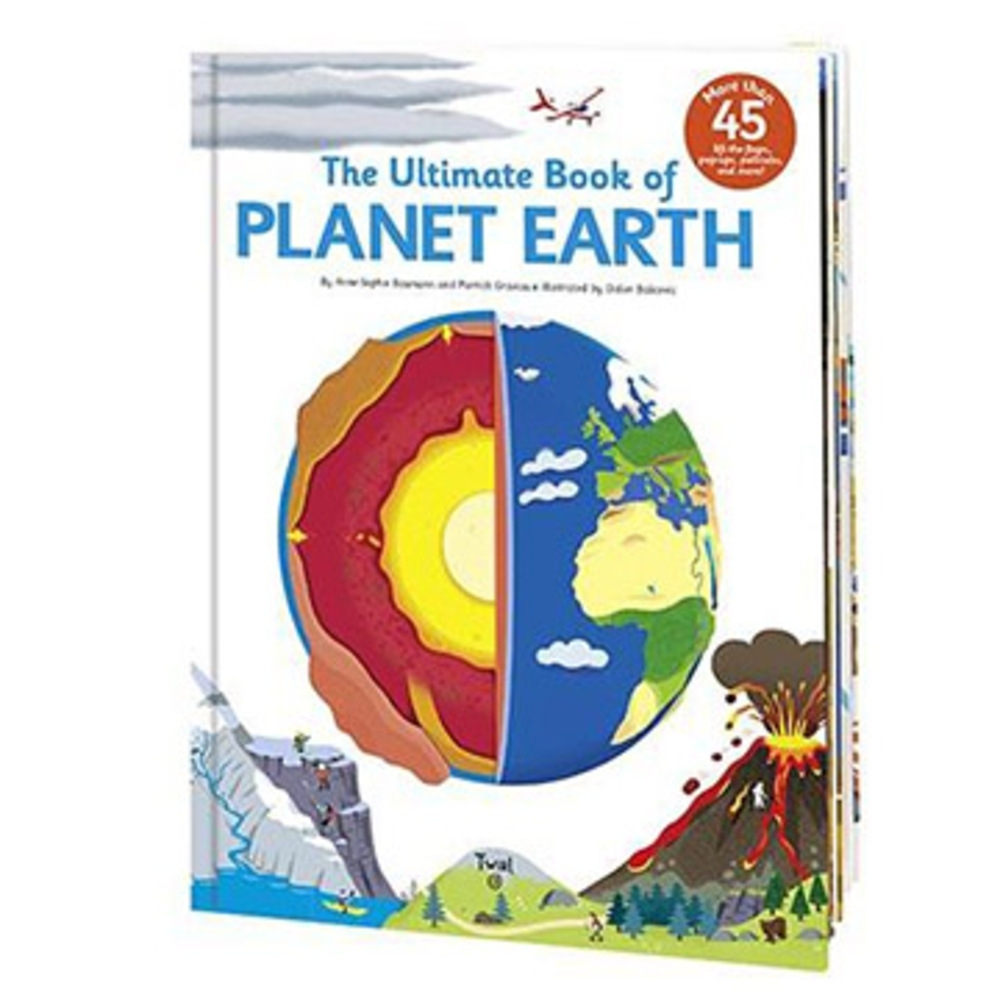The Ultimate Book Of Planet Earth 認識地球翻頁推拉書