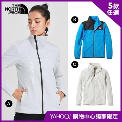 【The North Face】YAHOO獨家限定-北面男女款機能外套-5款任選