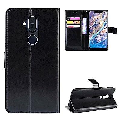 PKG Nokia X71   側翻式皮套經典皮革