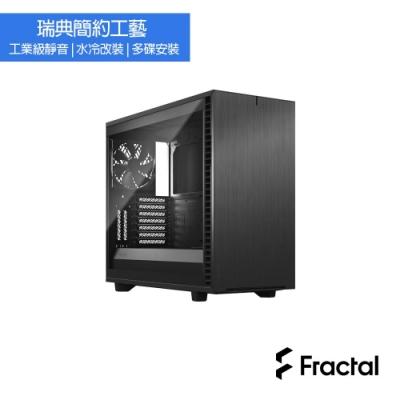 【Fractal Design】Define 7 TG 冰岩灰 鋼化玻璃透側電腦機殼