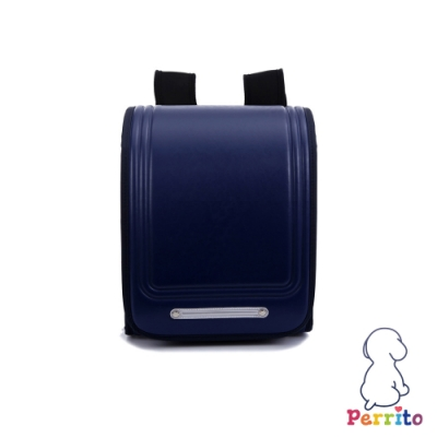 Perrito「日本學園」核心護脊兒童書包 (藍色)