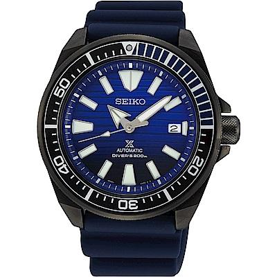 (無卡分期6期)SEIKO 精工 Prospex 200米潛水愛海洋藍鯨機械錶-43.8mm