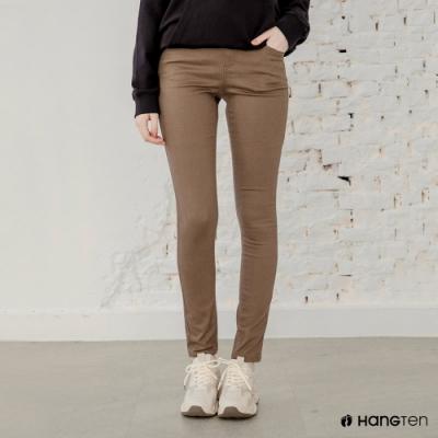 Hang-Ten-女裝-SUPER SKINNY FIT超緊身長褲-棕色