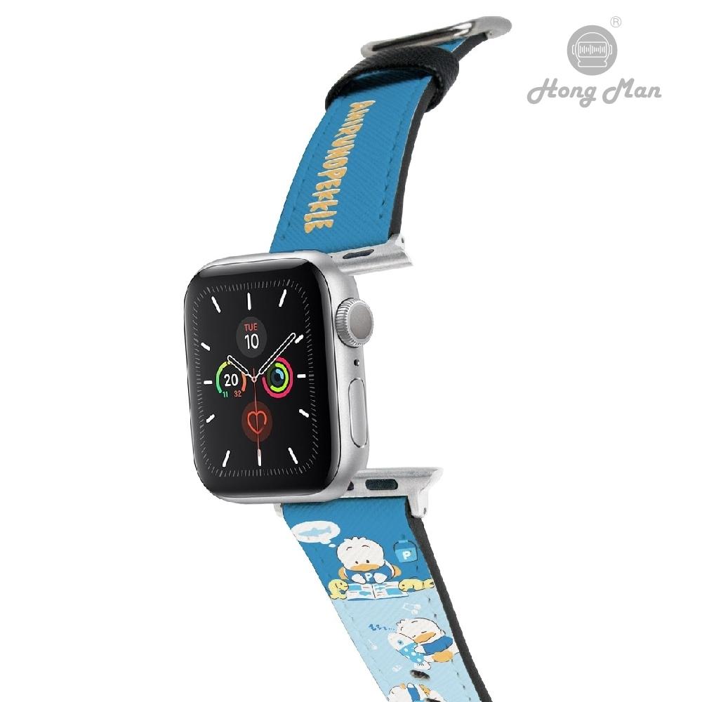 三麗鷗系列 Apple Watch 皮革錶帶 貝克鴨 42/44mm