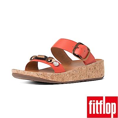 FitFlop JEWELEY雙帶涼鞋亮橘色