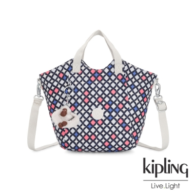 Kipling 華麗閃耀繽紛輕盈手提斜背包-NORI
