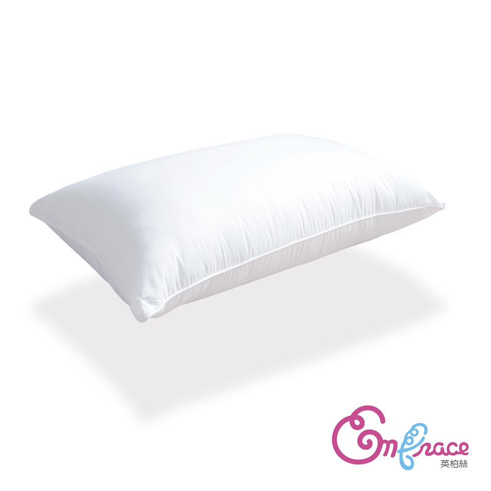 Embrace英柏絲 台灣製Q彈釋壓 獨立筒彈簧枕頭  偏硬枕-兩入 @ Y!購物