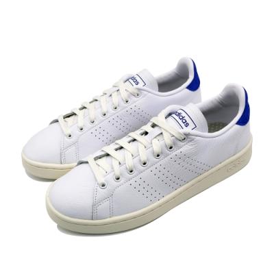 ADIDAS ADVANTAGE 男休閒鞋-白藍-EG3775