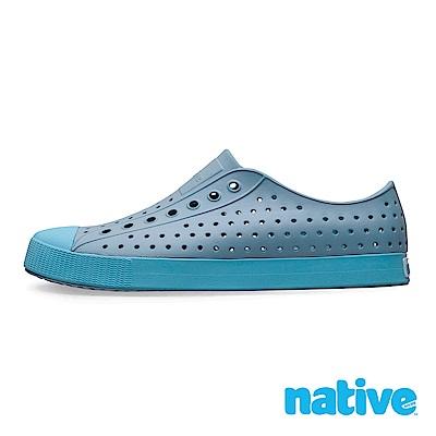native JEFFERSON 男/女鞋-富士藍 x 濕地藍