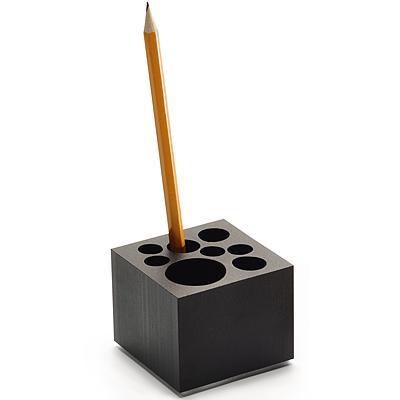 《PHILIPPI》霧黑多孔筆筒