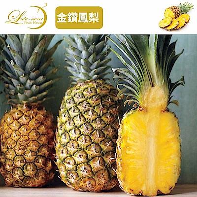 [甜露露]台灣金鑽鳳梨3支入(6斤)