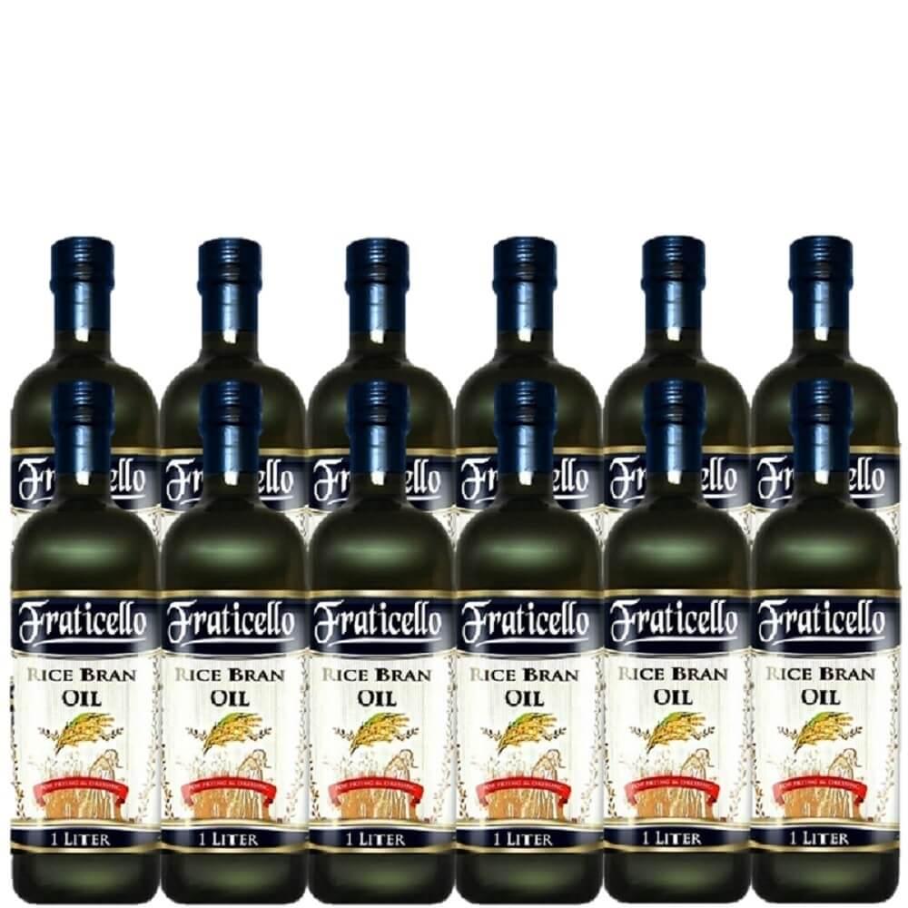 義大利帆聖西歐 玄米油(1000mlx12瓶)