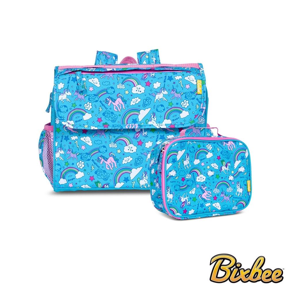 美國Bixbee - 夢想童趣系列彩虹小馬背包手提保溫袋套組