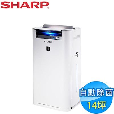 SHARP 夏普 14坪 日本原裝 自動除菌離子空氣清淨機 KC-JH60T-W-