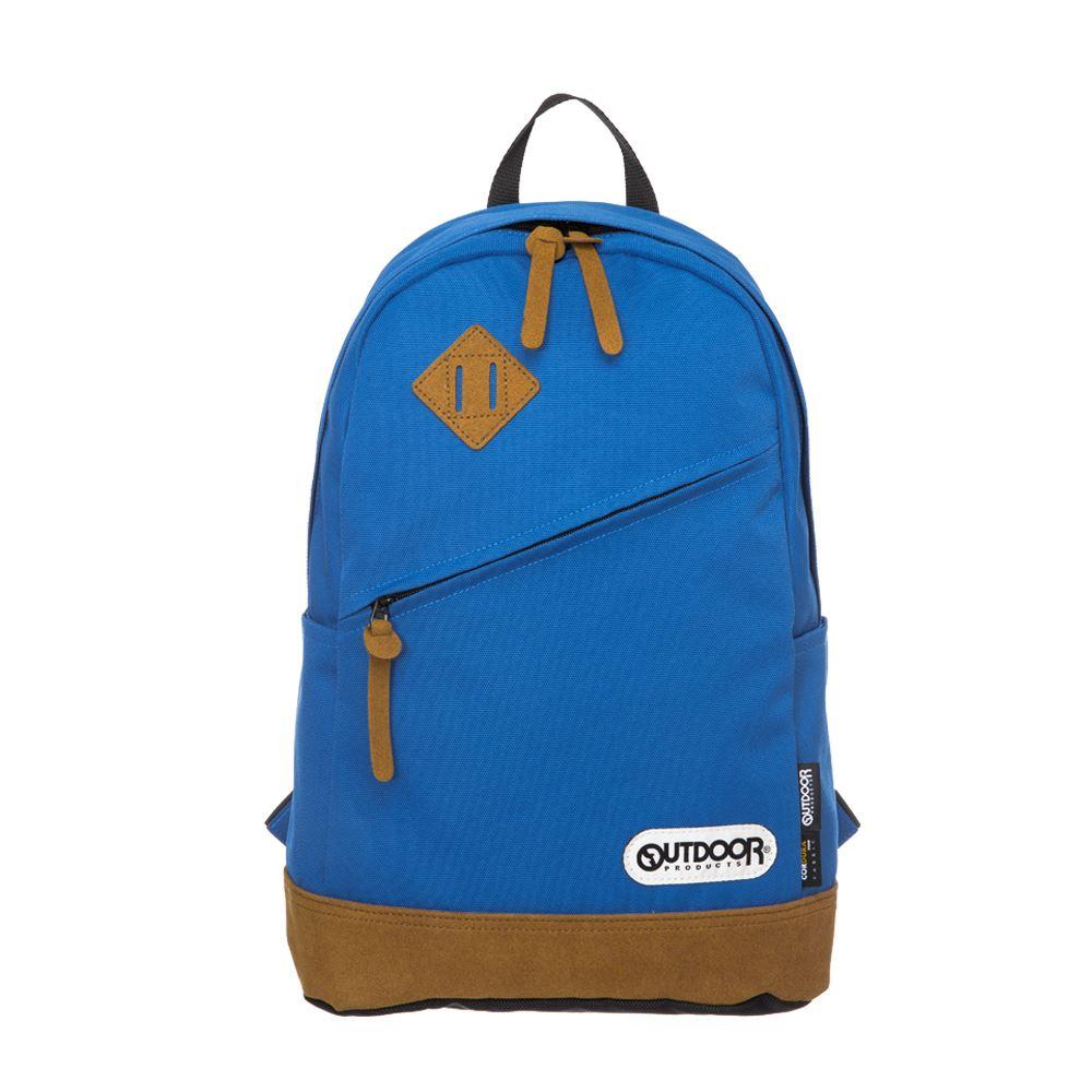 率真年代-14吋筆電皮底後背包-土耳其藍 OD62026TT