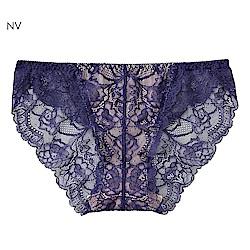 aimerfeel 蕾絲無痕內褲-海軍藍-170721-NV