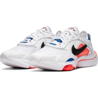 NIKE 休閒鞋 運動鞋 氣墊  緩震  女 白 藍CK2950101 W Air Zoom Division