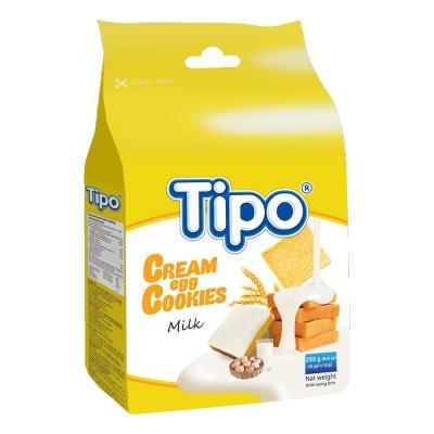 TIPO 雞蛋吐司餅-牛奶風味(250g)