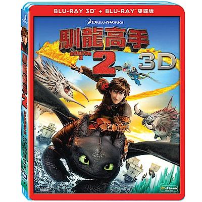 馴龍高手2 3D+2D 雙碟版 藍光 BD