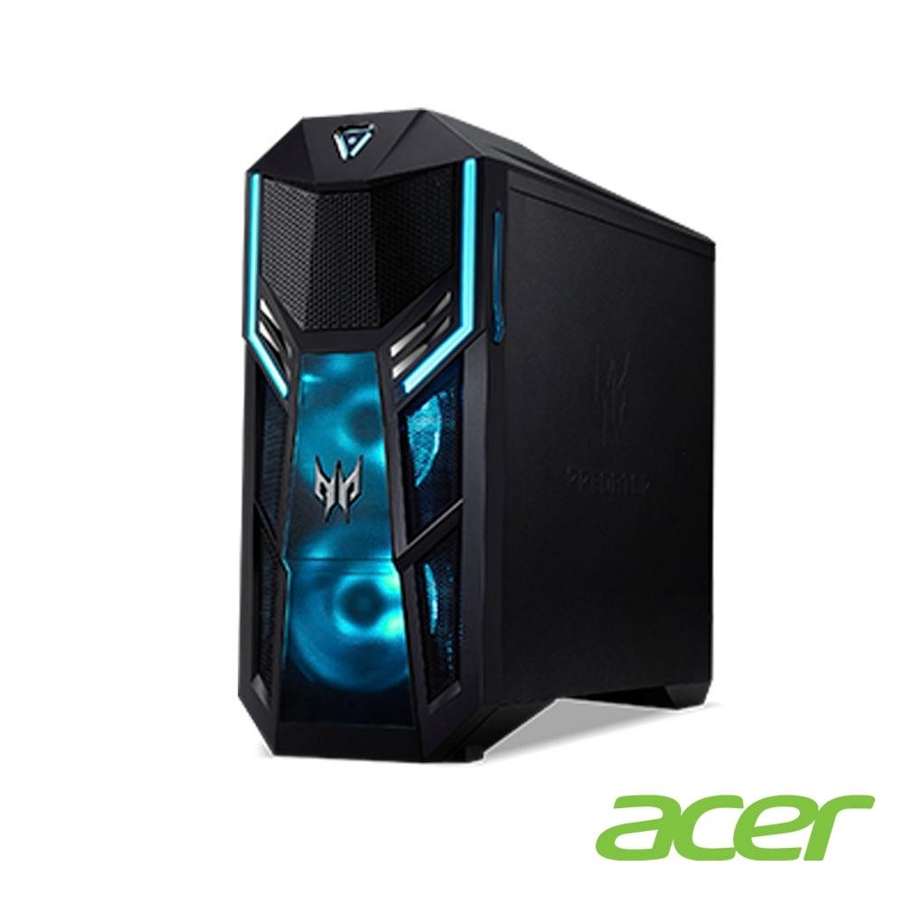 Acer PO5-615s 十代i7八核雙碟獨顯電競電腦(i7-10700K/RTX2060S/16G+16G/512G/2T/Win10p)