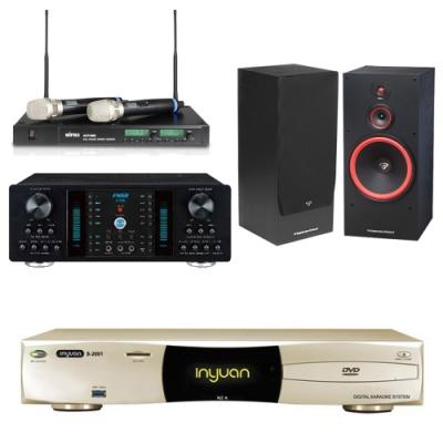 音圓N2A+FNSD A-350+ACT-880+SL-15(伴唱機 4TB+卡拉OK套組)
