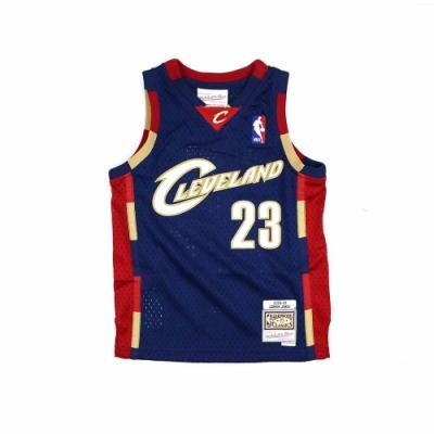 M&N 兒童 G1 Swingman復古球衣 騎士隊 08-09 LeBron James #23