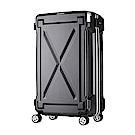 日本LEGEND WALKER 6304-72-29吋 防潑水拉鍊行李箱 消光黑