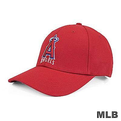 MLB-洛杉磯天使隊繡花可調式復古球帽