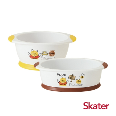 Skater幼童餐碗+深口盤 (維尼)