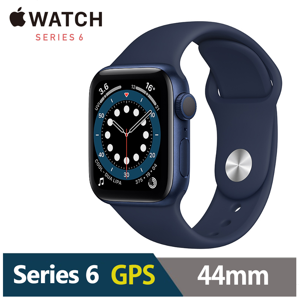 Apple Watch S6 44mm 鋁金屬錶殼配運動錶帶(GPS) product image 1