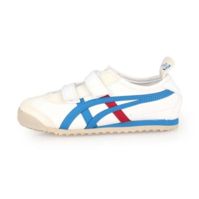 ASICS 中童休閒運動鞋 MEXICO 66 BAJA PS 白藍紅