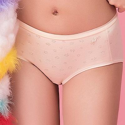 嬪婷- FTC系列 M-LL 中低腰平口褲(黃)透氣包臀-少女內衣褲