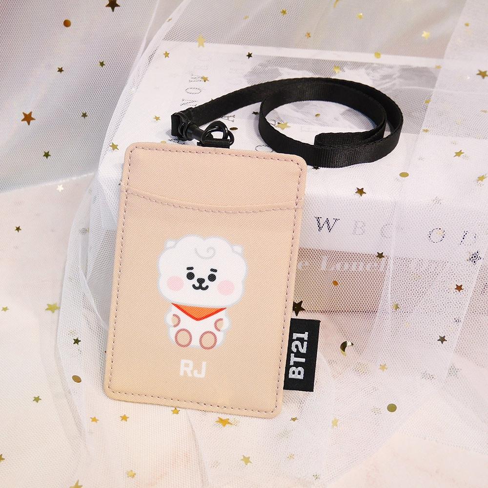 宇宙明星BT21-BABY寶寶卡片套-RJ-淺棕色 ODBT20D08BE