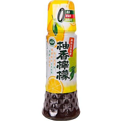健康廚房 無油沾拌淋醬-柚香檸檬(180ml)