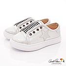 雨傘牌 星星休閒鞋款 EI73525銀白色(中小童段)