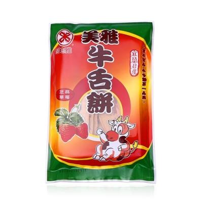 美雅宜蘭餅 草莓芝麻牛舌餅x15包