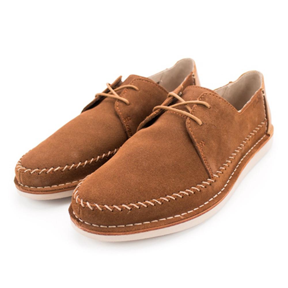 Clarks Brinton Craft 男休閒鞋 棕