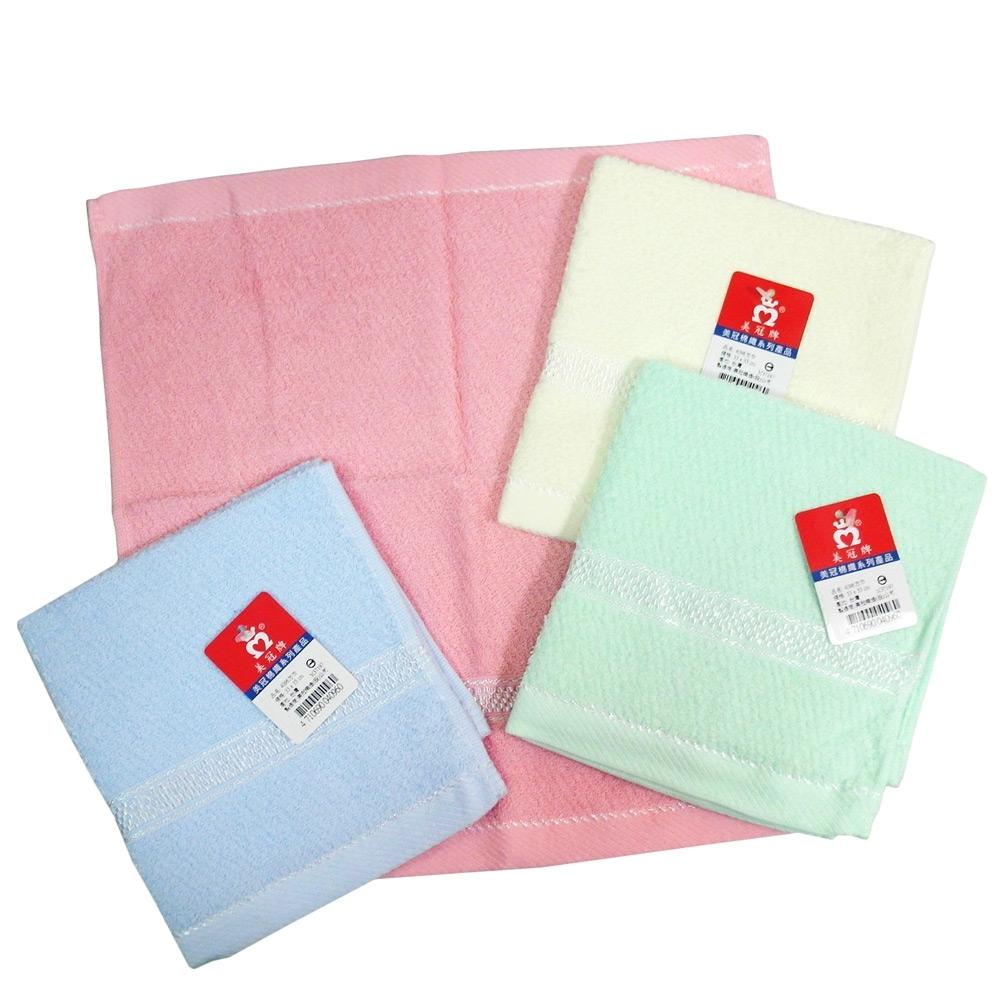 (12入)彩緞檔方巾 33x33cm-4096