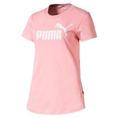 PUMA-女性基本系列Amplified短袖T恤-新娘玫瑰-亞規