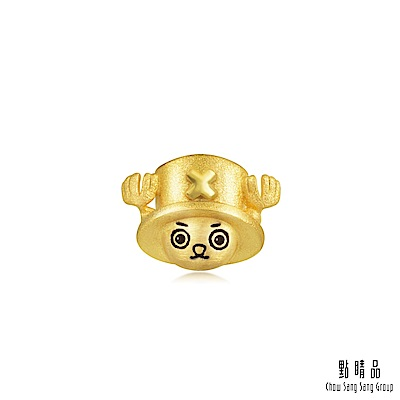 點睛品 航海王One Piece 喬巴 黃金耳環(單只)