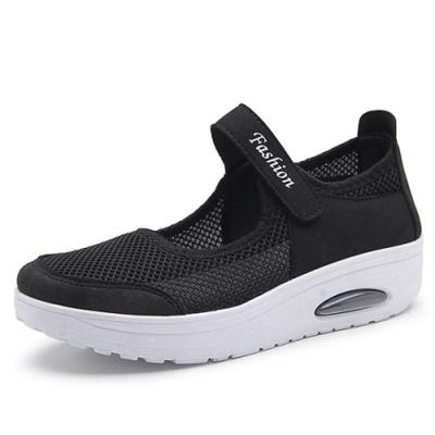 韓國KW美鞋館-簡約休閒舒適健步鞋-黑色