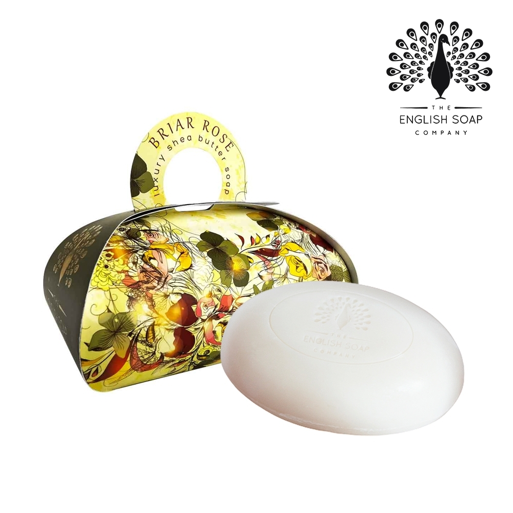 The English Soap Company 乳木果油植萃香氛皂-薔薇玫瑰 Briar Rose 260g