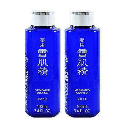 Kose 高絲 藥用雪肌精  100 ml  2 入組 百貨公司貨