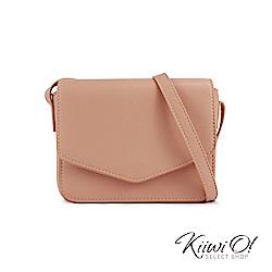[絕版暢貨] Kiiwi O! 信封造型簡約斜背小方包 Gina 杏