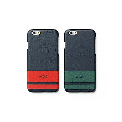 ZENUS AVOC Apple iPhone6/6s 4.7吋 經典條紋皮革保護殼