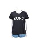 Michael Kors 鉚釘字母黑色短袖T恤