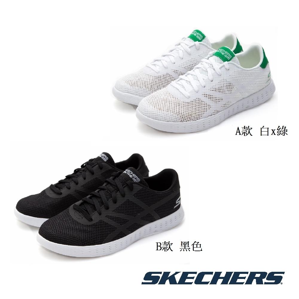 SKECHERS 男 輕量柔軟透氣健走鞋53817WGR/53817BLK