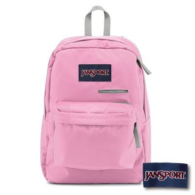 JanSport - DIGIBREAK 系列後背包 -淺粉紅