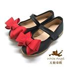 天使童鞋-優雅大蝴蝶結公主鞋(中-大童)J941-紅