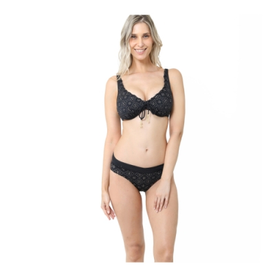 澳洲Sunseeker泳裝feminine detail系列兩件式比基尼泳衣鋼圈D罩杯小-大尺碼2191124DBLA